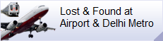 Link to CISF Lost and Found website