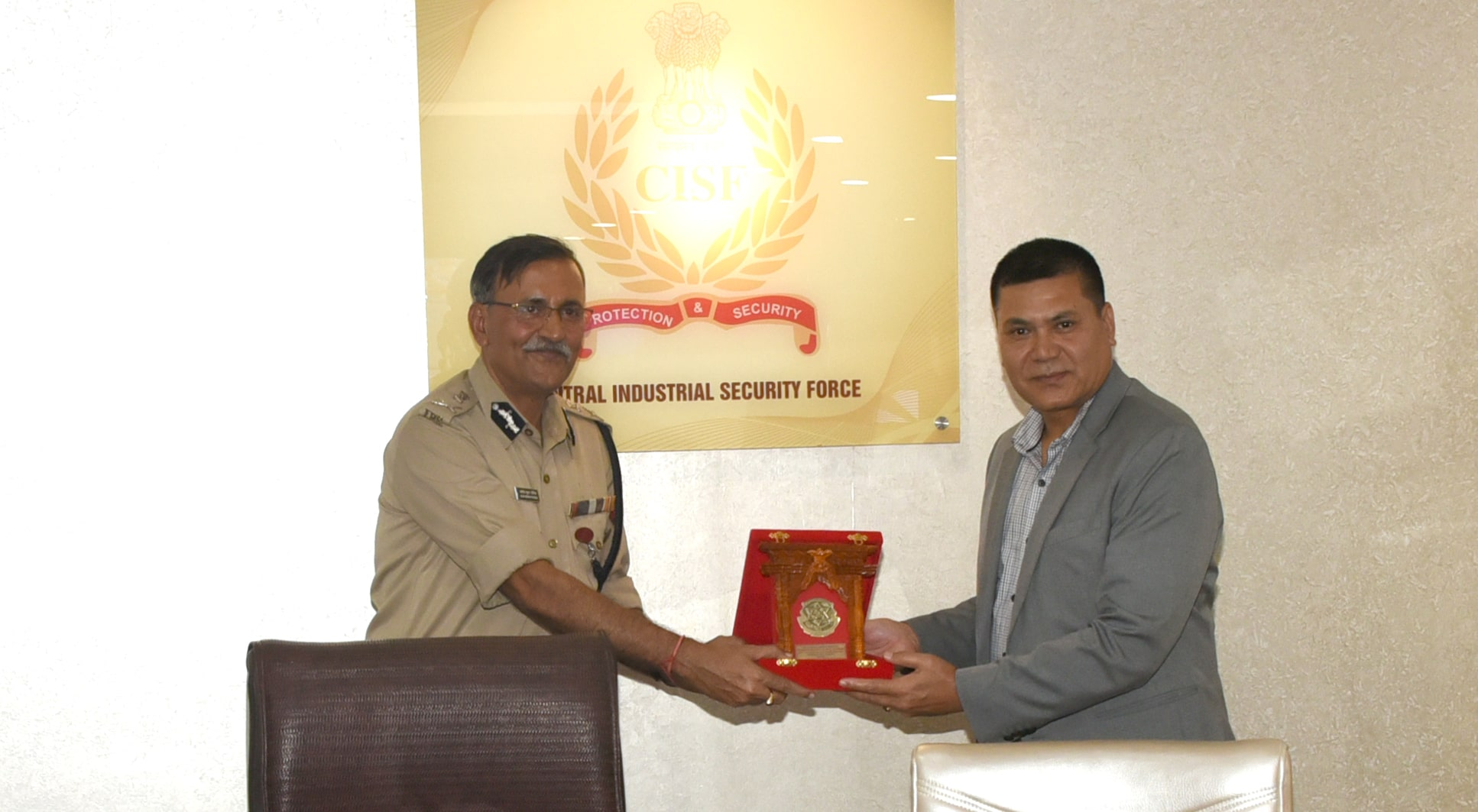 felicitation by DIG/Nepal Police